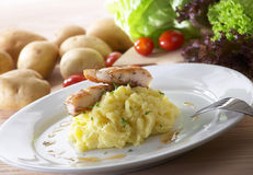 mosad potatis Royaltyfri Fotografi