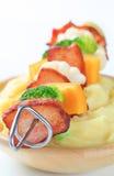 mosad potatissteknålgrönsak Royaltyfria Bilder