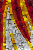 Mosaic. A colored pieces of mosaic Stock Photos