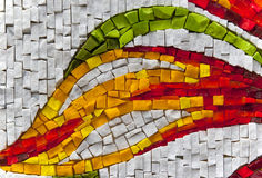 Mosaic. A colored pieces of mosaic Stock Photography