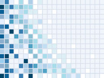 Mosaic. Blue mosaic background.vector illustration Royalty Free Stock Photography