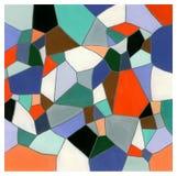Mosaic. Hand-made mosaic texture Royalty Free Stock Images