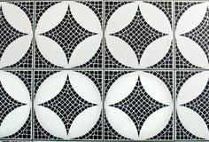 Mosaic. Black and white mosaic background Royalty Free Stock Image