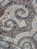 Mosaic. Outside a medieval church in Paphos, Cyprus Royalty Free Stock Image