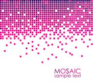 Mosaic. Abstract mosaic background with place for text detailed Royalty Free Stock Photos