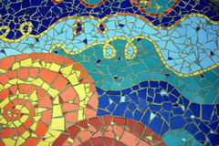 Mosaic. A colorful mosaic with fine detail in Limassol, Cyprus Stock Images