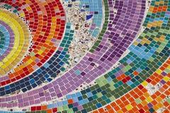 Mosaic. Colorful mosaic background ,Mosaic wall Stock Photography