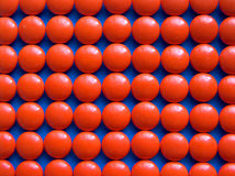 Mosaic 2. Of orange pills royalty free stock images