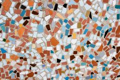 Mosaic 2. Close-up of colorful abstract ceramic mosaic Royalty Free Stock Photography