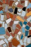 Mosaic 2. Close-up of colorful abstract ceramic mosaic Royalty Free Stock Photos