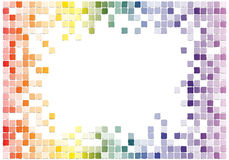 Mosaic. Graphic illustration of a mosaic Royalty Free Stock Photography