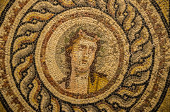 Mosaic. Roman mosaic in a museum in Turkey Royalty Free Stock Photography