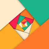 Mosaic. Abstract mosaic geometric background,  illustration Royalty Free Illustration