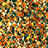 Mosaic. Seamless abstract geometric mosaic pattern, illustration Vector Illustration
