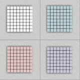 Mosaic. Of four different squares, tone matched squares Royalty Free Stock Images