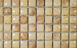 Mosaic. Light brown background from mosaic stock photos