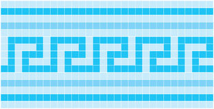 Mosaic. Vector image of rectangles, good for background and pattern for graphical composition Royalty Free Stock Photography