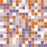 Mosaic. Vector image of rectangles, good for background and pattern for graphical composition Stock Photography