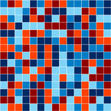 Mosaic. Vector image of rectangles, good for background and pattern for graphical composition Royalty Free Stock Image