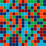 Mosaic. Vector image of rectangles, good for background and pattern for graphical composition Stock Photo