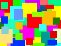 Mosaic. Colorful illustration Royalty Free Stock Photos