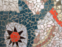 Mosaic. Hand made Mosaic from colorful tiles Royalty Free Stock Photos