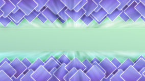 Mosaic abstract background | Banner template Stock Photo