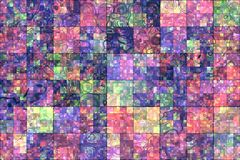 Mosaic abstract background Stock Photos
