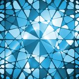 Mosaic abstract background Stock Photography