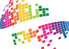 Mosaic abstract bright background Vector Royalty Free Stock Photos