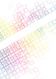 Mosaic abstract bright background Vector Stock Photo