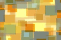 Mosaic abstract brush strokes art painting background in various colors.  royalty free illustration