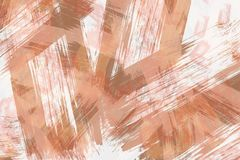 Mosaic abstract brush strokes art painting background in various colors.  vector illustration