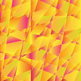 Mosaic abstract orange background consisting of Royalty Free Stock Photography
