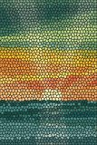 Mosaic abstract sea or ocean shore Stock Photo