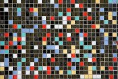Mosaic. Abstract mosaic of small tiles vector illustration