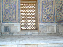Mosaic of ancient Uzbekistan Royalty Free Stock Photography