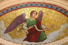 Mosaic of an angel Royalty Free Stock Photography
