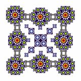 Mosaic and arabesque Royalty Free Stock Photography
