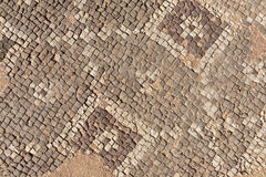 Mosaic at an Archaeological Site Royalty Free Stock Photography