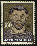 Mosaic of Archbishop Eufrasie Royalty Free Stock Photos