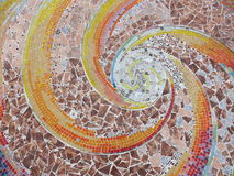 Mosaic. Art beautiful  Mosaic of color Royalty Free Stock Photo