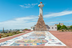 Mosaic art at Donkin Reserve along Route 67 Stock Images