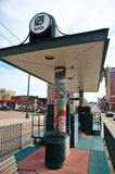 Trolley Station Mosaic Art in Memphis, Tennessee. Royalty Free Stock Photography