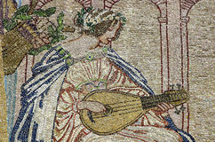Mosaic artwork Royalty Free Stock Photos