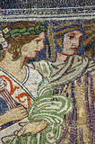 Mosaic artwork. Horniman museum entrance, London Stock Image