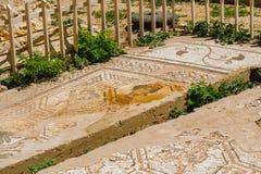 Baalbek Ancient city in Lebanon. Royalty Free Stock Photo