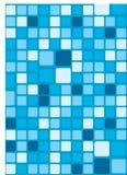 Mosaic background. Blue abstract ceramic mosaic background Stock Photos