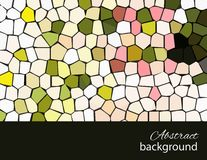 Mosaic background_2. Its a spring, vector mosaic. You can use for greeting someone Stock Photography