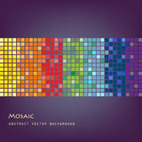 Mosaic background. Vector illustration. Abstract mosaic background Royalty Free Stock Image